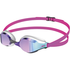 speedo Fastskin Speedsocket 2 Mirror Goggles pink/blue